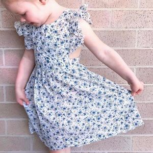 Girls size6 MY LITTLE TRICYCLE Elsia flutter dress